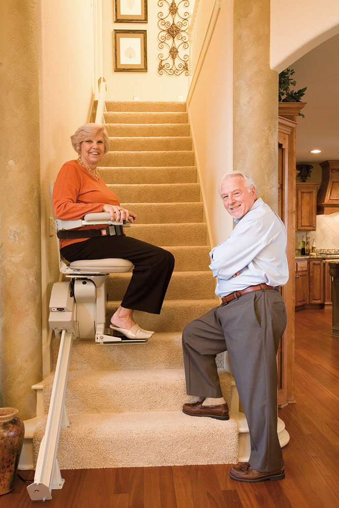 Caledonian Stairlifs Bruno Heavy Duty Stairlifts